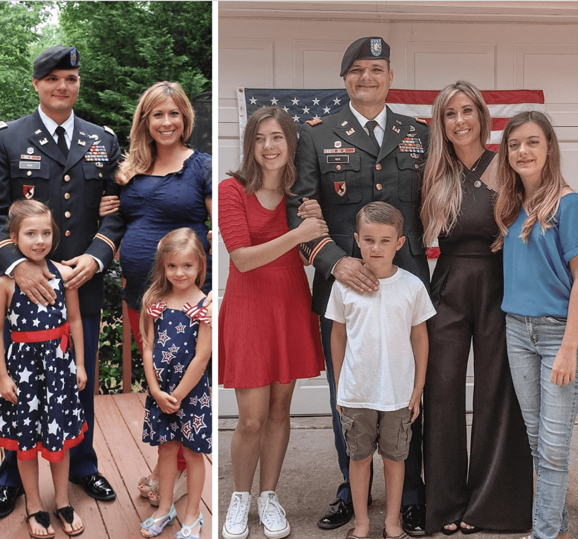 Christie Nix Family Seven Years