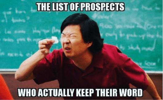 List Of Prospects Meme
