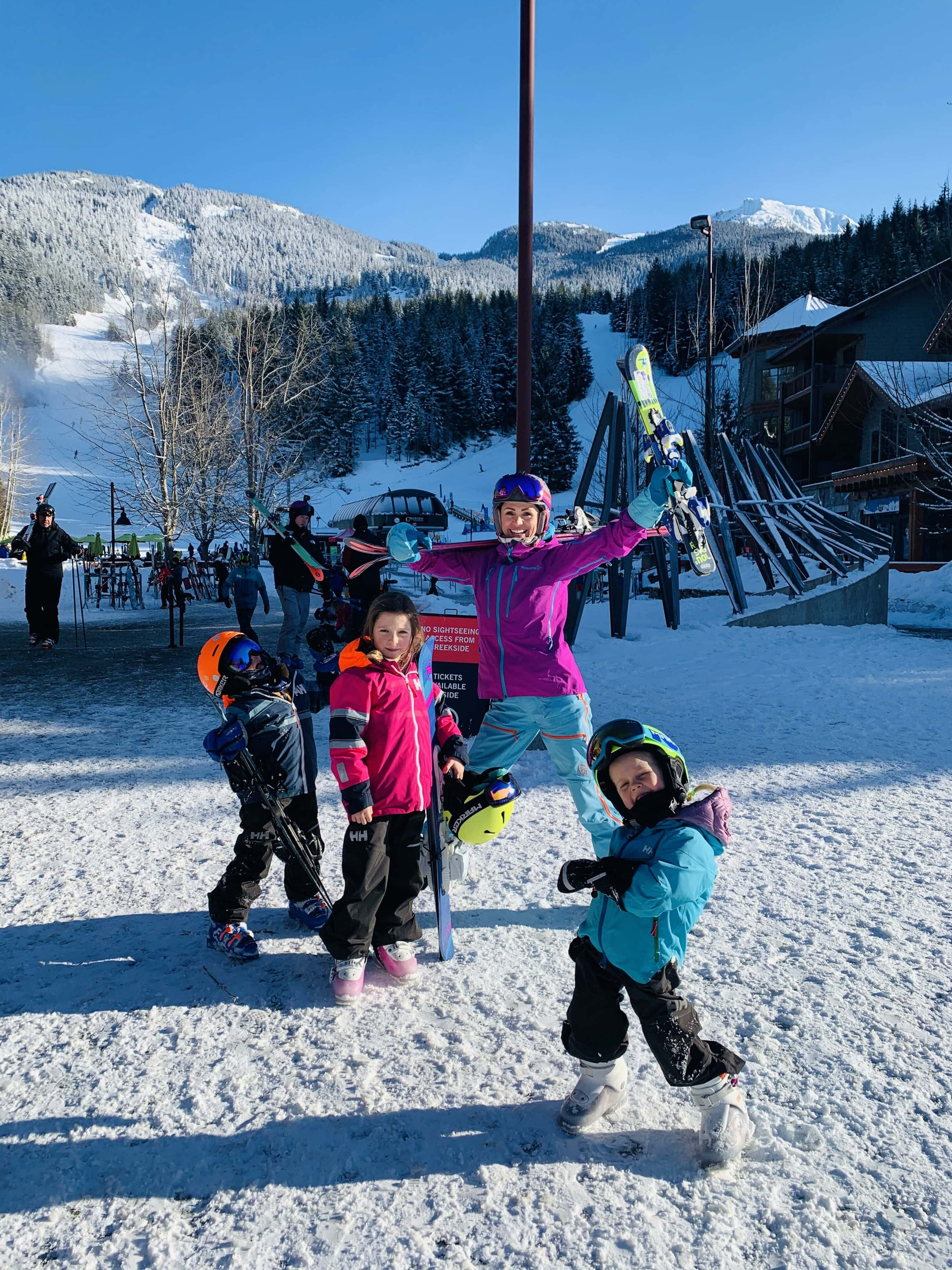 TL Skiing With The Kids