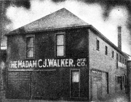 Madam CJ Walker Manufacturing Company, Indianapolis, Indiana (1911)