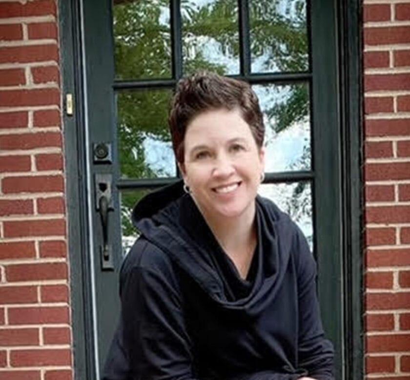 Michelle Cochran Wells And Door